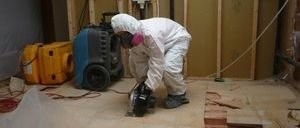 Water Damage Restoration Floor Repair